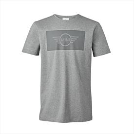 Mini Mens Embossed 3-D Wing Logo Sweatshirt Grey Large