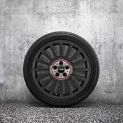 "MINI JCW 19"" Style 536 Orbit Grey Rallye Spoke Summer Complete Wheel & Tire Set"