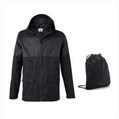 MINI Men s Jacket with Backpack Black