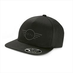 MINI 3D Wing Logo Cap Black