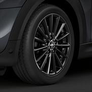 "Style 505 Liquid Black - 17"" Multi-spoke Complete Wheel and Tire Set"