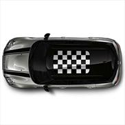 Checkered Flag Roof Graphic