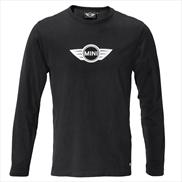 MEN S LONG-SLEEVE LOGO TEE