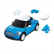 MINI Cooper S Hardtop Puzzle Car Transparent Blue