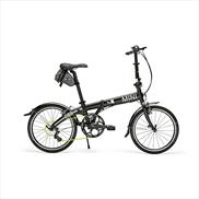 MINI Folding Pocket Bike Black
