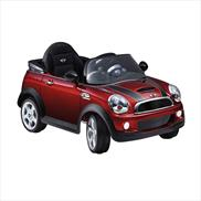 MINI Cooper S Convertible Electric Ride-On Car Red