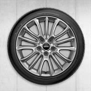 "MINI 17"" Style 519 Net Spoke Winter Complete Wheel and Tire Set"