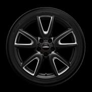 """JCW 18"""" Style 534 Matte Black Summer Complete Wheel and Tire Set"""