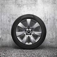 "MINI 17"" Style 530 Imprint Spoke Winter Complete Wheel and Tire Set"