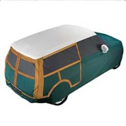 MINI Car Cover Outdoor, Woody Design