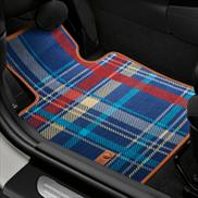 Speedwell Blue Carpeted Floor Mats