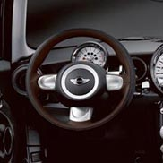 3-Spoke Leather Sport Steering Wheel
