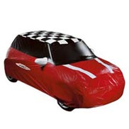 John Cooper Works Car Cover Outdoor, Red