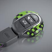 Vivid Green Key Fob with NFC