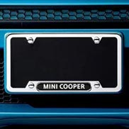 License plate frame - MINI Cooper