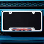 License plate frame - Union Jack