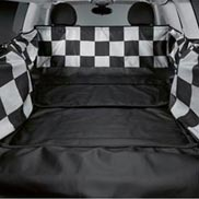 Protective Boot Space Cover Checkered Flag