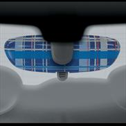 Speedwell Blue Interior Mirror Cover