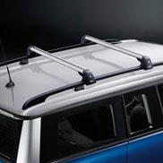 Roof Rack Base Support System for Roof Rail