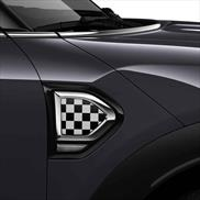 MINI White/Black Checkered Design Package