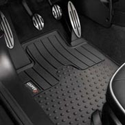 All Weather Floor Mats - Cooper S Logo
