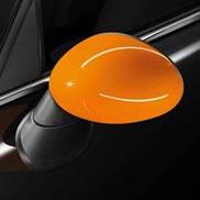 Orange Mirror Caps