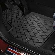 All Weather Floor Mats Essential Black