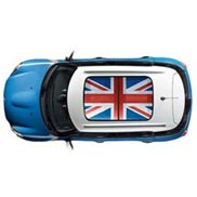 Sun Roof Graphic, Union Jack