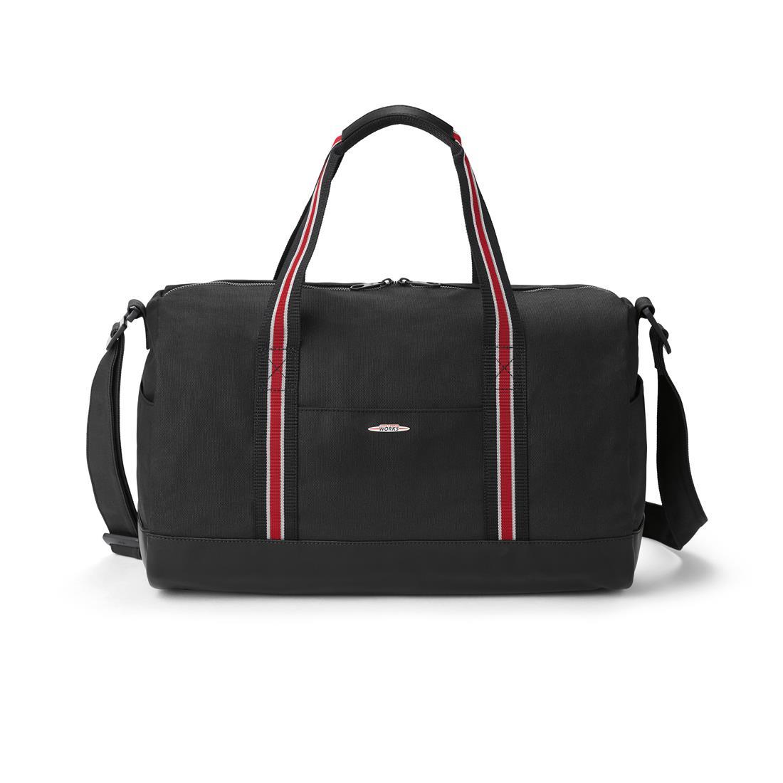 d15b89a21f ShopMINIUSA.com  MINI JCW Duffle Bag Black