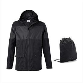 MINI Men's Jacket with Backpack Black